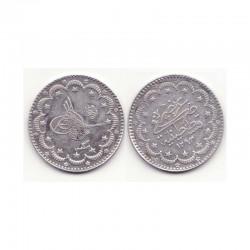 5 Kurush argent empire Ottoman 1293 ( 013 )