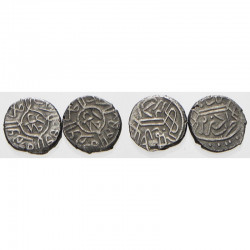 lot de 2 Aches en argent empire Ottoman Turquie ( 009 )