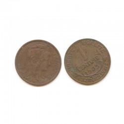 1 cents Dupuis 1903 Bronze ( 001 )