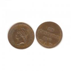 1 Centime Dupré 1849 A ( 001 )