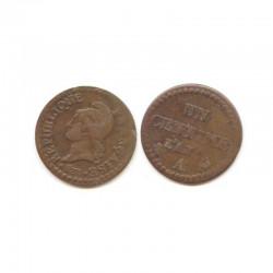 1 Centime Dupré An 7 A ( 003 )