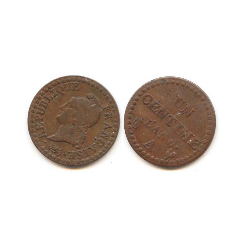1 Centime Dupré An 6 A ( 003 )