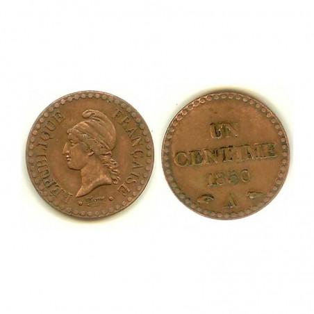 1 Centime Dupré 1850 A ( 001 )