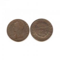 5 Centimes Dupré an 8 BB ( 003 )