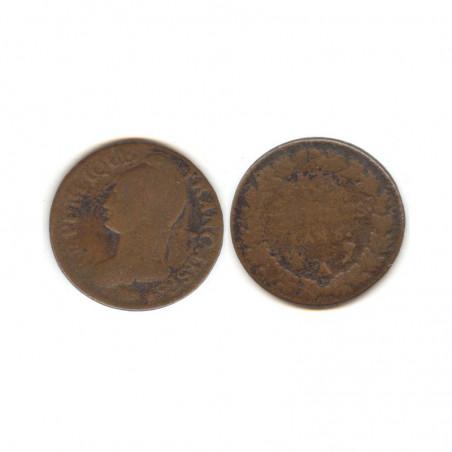 5 Centimes Dupré an 8 A ( 002 )
