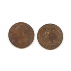 5 Centimes Dupré an 5 A ( 001 )