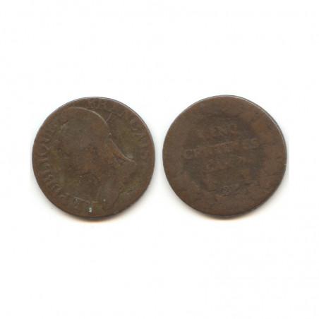 5 Centimes Dupré an 7 BB ( 001 )