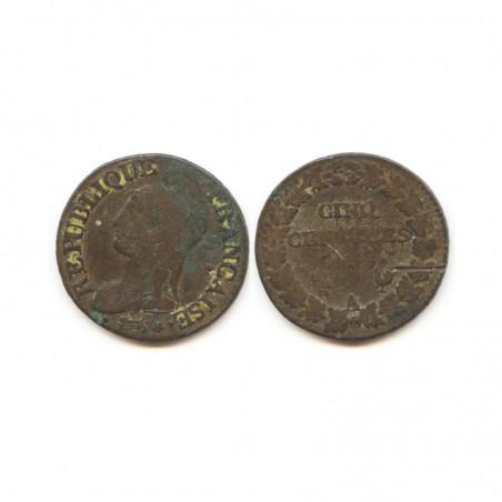 5 Centimes Dupré an 7 A ( 002 )