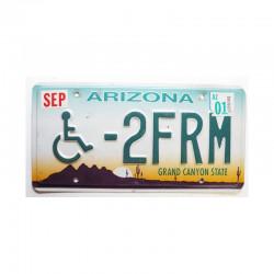Plaque d Immatriculation USA - Arizona ( 753 )