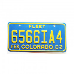 Plaque d Immatriculation USA - Colorado ( 775 )