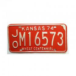 Plaque d Immatriculation USA - Kansas ( 779 )
