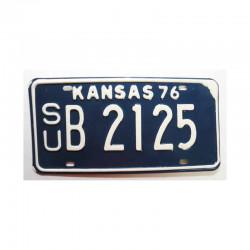 Plaque d Immatriculation USA - Kansas ( 781 )