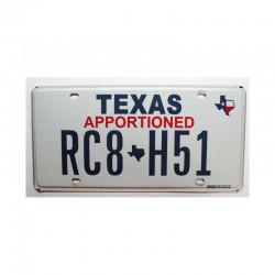 Plaque d Immatriculation USA - Texas ( 797 )