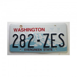 Plaque d Immatriculation USA - Washington  ( 792 )