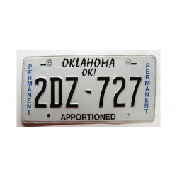 Plaque d Immatriculation USA - Oklahoma ( 790 )