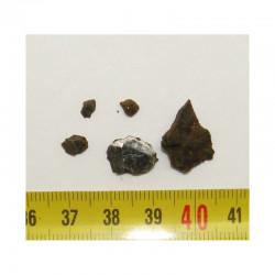Lot de Meteorites Brenham- Pallasite ( 2.00 grs - 013 )