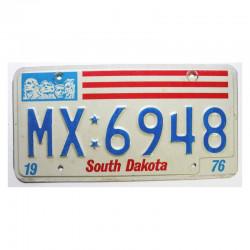 Plaque d Immatriculation USA - South Dakota ( 682 )