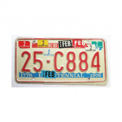 Plaque d Immatriculation USA - Nebraska  ( 836 )