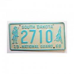 Plaque d Immatriculation USA - South Dakota ( 840 )