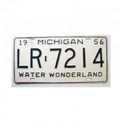Plaque d Immatriculation USA - Michigan ( 890 )