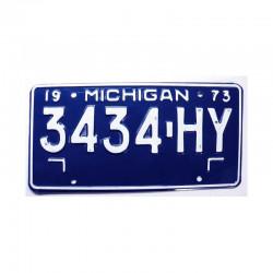 Plaque d Immatriculation USA - Michigan ( 889 )