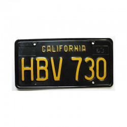Plaque d Immatriculation USA - California ( 897 )