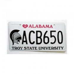 Plaque d Immatriculation USA - Alabama ( 906 )