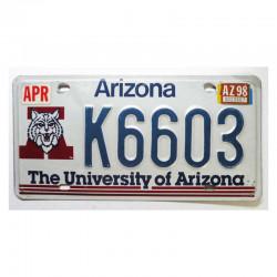 Plaque d Immatriculation USA - Arizona ( 907 )
