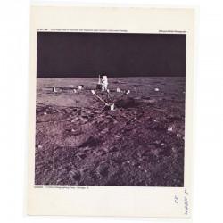 Photo Vintage Original de la Nasa Apollo XII ( 025 )