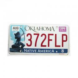 Plaque d Immatriculation USA - Oklahoma ( 923 )