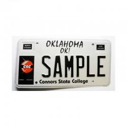 Plaque d Immatriculation USA - Oklahoma ( 924 )