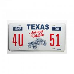 Plaque d Immatriculation USA - Texas ( 929 )