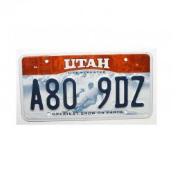 Plaque d Immatriculation USA - Utah ( 931 )