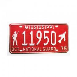 Plaque d Immatriculation USA - Mississippi ( 940 )