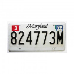 Plaque d Immatriculation USA - Maryland ( 944 )