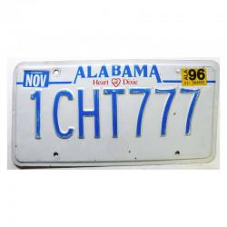 Plaque d Immatriculation USA - Alabama ( 963 )
