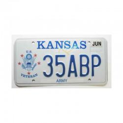 Plaque d Immatriculation USA - Kansas ( 956 )