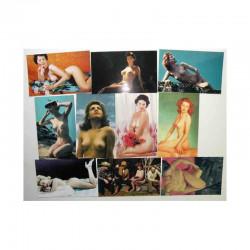 lot de 10 cartes postales Classic Pin Up USA ( 007 )