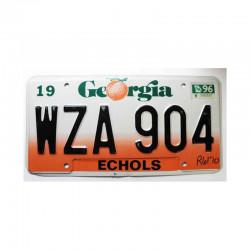 Plaque d Immatriculation USA - Georgia ( 975)