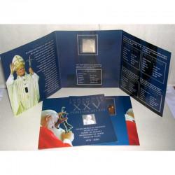 Jean Paul II Timbre argent 2003