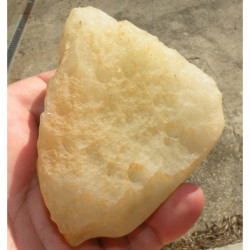 verre libyque LDG ( meteorite -Tectite - 262 grs - 045 )