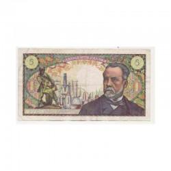 5 Francs Pasteur 04/04/1968 TTB + ( 050 )