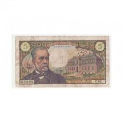 5 Francs Pasteur 01/08/1968 TB + ( 074 )