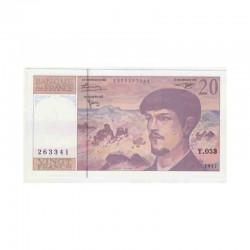 20 Francs Debussy 1997 Neuf ( 335 )