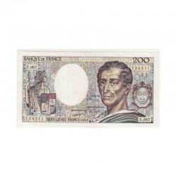 200 Francs Montesquieu 1989 E067 SUP ( 339 )