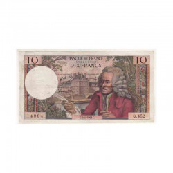 10 Francs Voltaire 02/01/1969 TTB + ( 346 )