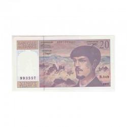 20 Francs Debussy 1995 Neuf ( 388 )