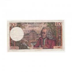 10 Francs Voltaire 04/04/1968 TTB ( 394 )
