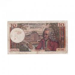 10 Francs Voltaire 05/09/1968 TB ( 399 )