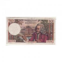 10 Francs Voltaire 05/01/1967 TTB ( 403 )